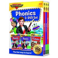 Rock N Learn Phonics 3 Dvd Set