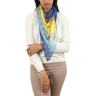 Missoni Yellow/Blue Wave Scarf - 44-44