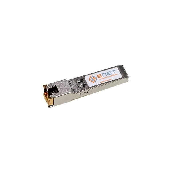 ENET SFP-TX-ENC Aruba SFP-TX Compatible 10/100/1000BASE-T SFP 100m RJ45 Copper Cat5/Cat5e/Cat6 100% Tested Lifetime warranty and