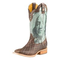 Tin Haul Western Boots Mens Tin Haul Western Brown