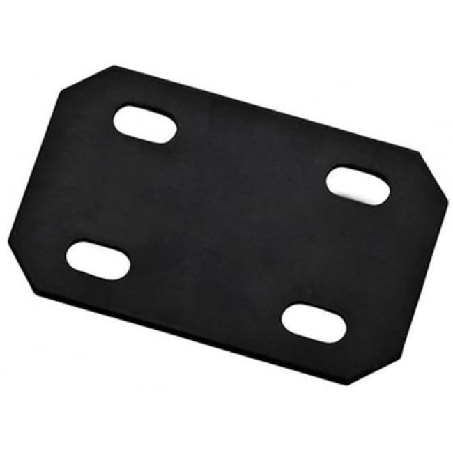 National Hardware N351-462 Steel Mending Plate, Black, 4.7 x 3 x 1/8