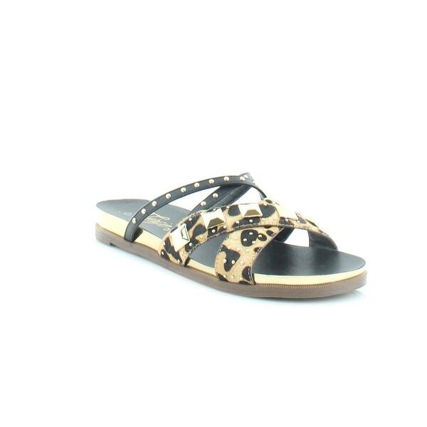 Fergalicious by Fergie Dexter Women's Sandals & Flip Flops Leopard