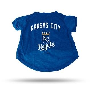 Kansas City Royals Pet Tee Shirt Size S