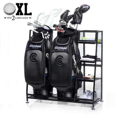 Milliard Extra Large Golf Organizer with Storage Rack