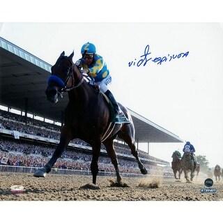Victor Espinoza Winning 2015 Belmont Stakes 8x10 Photo