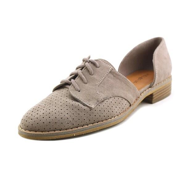 Indigo Rd. Heath Women Pointed Toe Canvas Gray Loafer