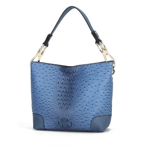 MKF Collection Wandy Soft Vegan Leather Hobo Bag w/ Wallet