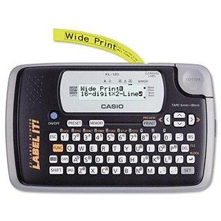 Casio KL120L KL-120L portable thermal label maker