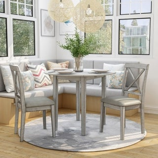 Link to Furniture of America Bechler Transitional White 3-piece Dining Set Similar Items in Dining Room & Bar Furniture