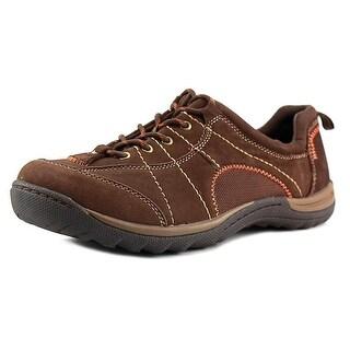 Earth Origins Kamber Women  Round Toe Leather Brown Sneakers