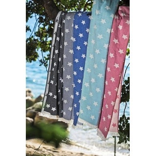 Star Turkish Bath, Beach Towel Pestemal Pure Cotton