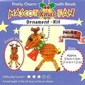 Create Your Own Miyuki Mascot Reindeer Bead Charm Christmas Ornament Kit - - Thumbnail 0