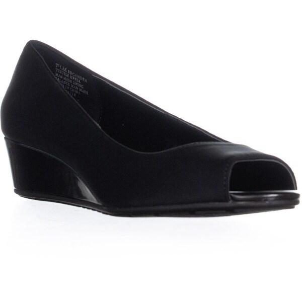 864a360b72e2 Shop Bandolino Candra Peep Toe Wedge Sandals