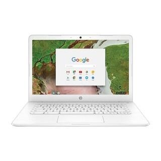 """HP Chromebook 14-CA030NR 14"""" HD WLED Intel N3350 4GB 16GB eMMC Chrome OS"""