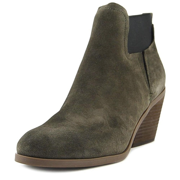 GUESS Womens Galeno Leather Closed Toe Ankle Fashion Boots