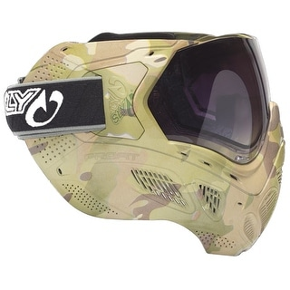 Sly Profit Thermal Paintball Mask - Full Camo V-CAM