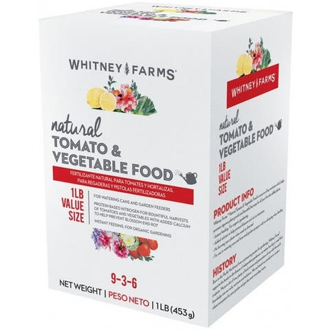 Whitney Farms 10101-13179 Natural Tomato & Vegetables Plant Food, 1 Lbs