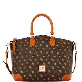 Dooney & Bourke Gretta Satchel (Introduced by Dooney & Bourke at $228 in Aug 2013) - brown tmoro