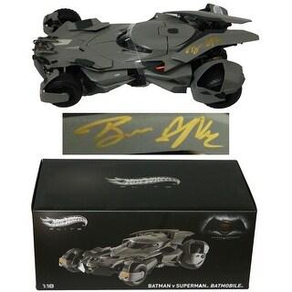 Ben Affleck Batman vs Superman Hot Wheels Elite 118 Scale Batmobile