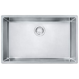 "Franke CUX11027 Cube 28-1/2"" Single Basin Undermount Kitchen Sink"