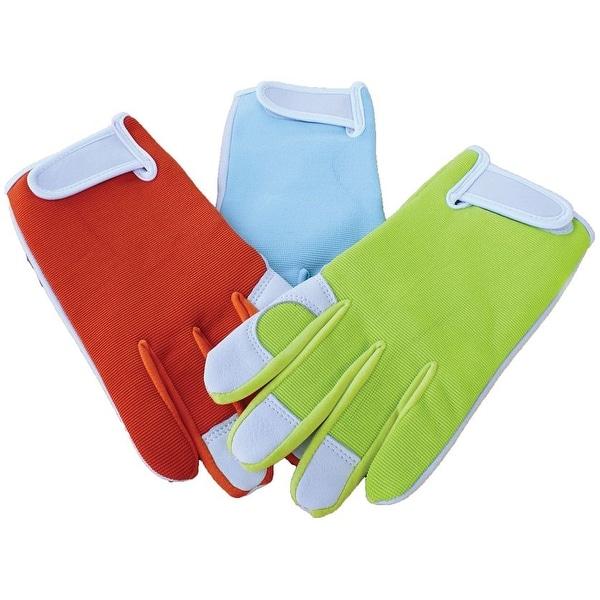 Boss 781 Spandex Back Goatskin Palm Gloves, Assorted
