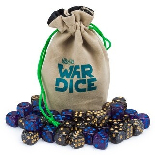 Set of 40 12mm War Dice, Galactic Conquest