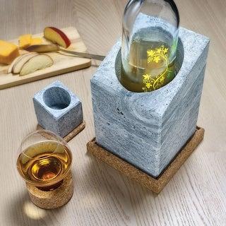 Swedish Stone Wine Cooler - Freezer Chilled Bottle Holder