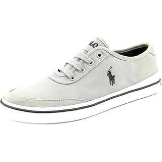 Polo Ralph Lauren Earle Round Toe Canvas Sneakers