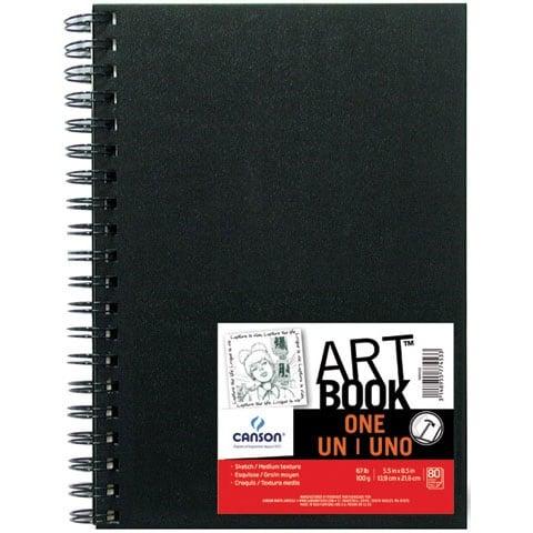 "Canson - ONE Art Book - Wire-Bound - 8.5"" x 11"""