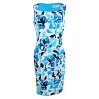 Kasper Women's Floral-Print Sheath Dress