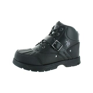 U.S. Polo Assn. Mens Casual Boots Duck Toe Guard