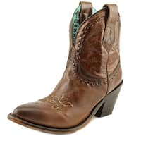 Corral A3312 Women  Pointed Toe Leather Brown Ankle Boot