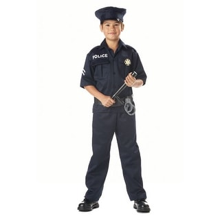 Police Officer Kids Halloween Costume