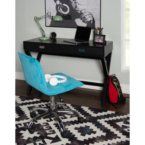 Poppy Black Writing Desk