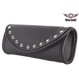Leather Motorcycle Windshield Bag