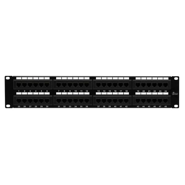 Cat6 Patch Panel 110 Type 48 port - Enhanced