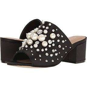 Aldo Womens Pearls Open Toe Mules Mules