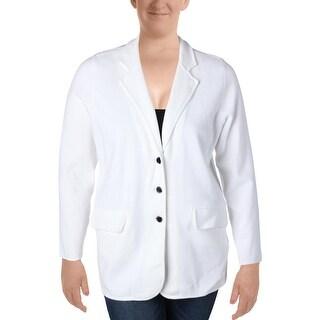 Lauren Ralph Lauren Womens Ayelee Blazer 3 Button Notch Collar