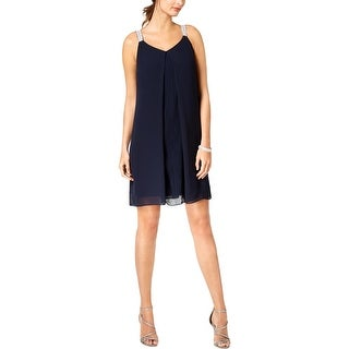 MSK Womens Shift Dress Embellished Cocktail