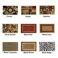 "Swan Comfort Home Fashion  Printed Doormat Scrape Dirt & Grass Textured Grip Bottom 18"" x 31"" - Thumbnail 2"