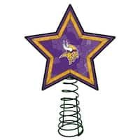 Minnesota Vikings Mosaic Tree Topper