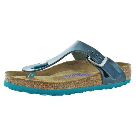 d999a9c09 Birkenstock Womens Gizeh T-Strap Sandals Birko-Flor Adjustable