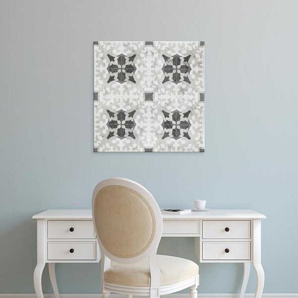 Easy Art Prints June Erica Vess's 'Boho Luxe Tile V' Premium Canvas Art