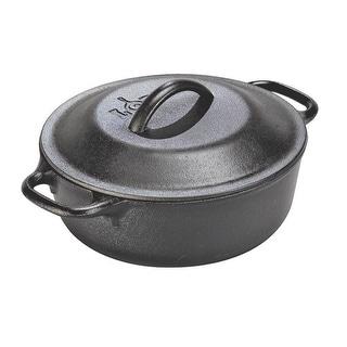 Lodge L2SP3 Serving Pot With Iron Cover, 2 Quart