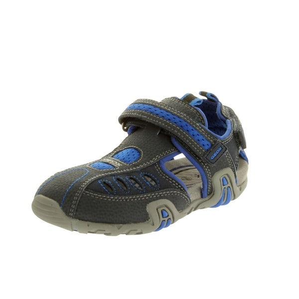 Eu 33 Uk 1 Good Used Condition Kids' Clothes, Shoes & Accs. Geox Boys Blue Sandals Size Boys' Shoes