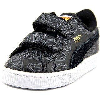 Puma Basket Superman V Kids Round Toe Synthetic Sneakers