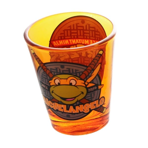Teenage Mutant Ninja Turtles Orange Michelangelo Shot Glass - Multi
