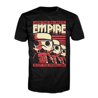 Star Wars Funko POP Tees Stormtrooper Poster