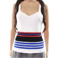 Cottom Emporium Women's Large Rib Striped Knit Top