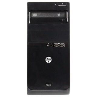 HP Pro 3500 Computer Tower Intel Core I3 3220 3.3G 8GB DDR3 1TB Windows 10 Pro 1 Year Warranty (Refurbished) - Black